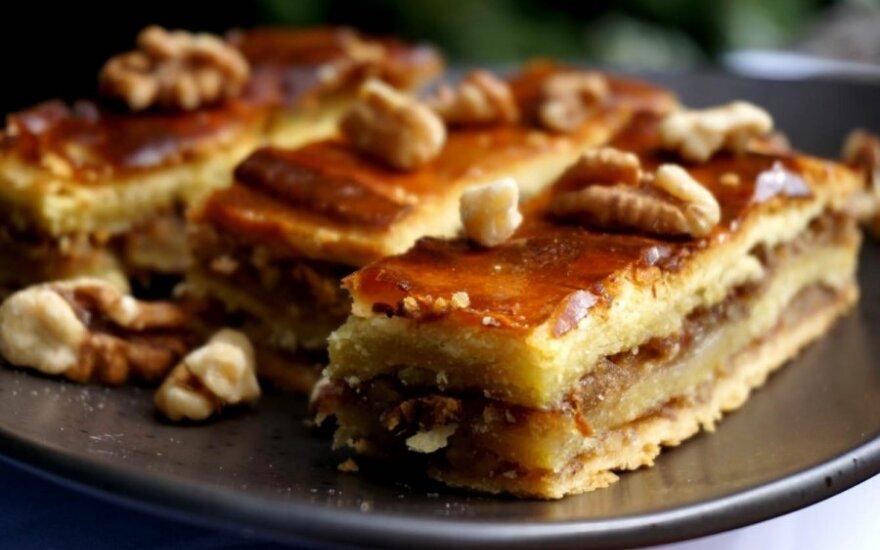 SALDU-GARDU: Pachlava – turkiškas skanėstas