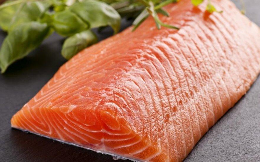 Bloga žinia žuvies mėgėjams - brangs lašiša