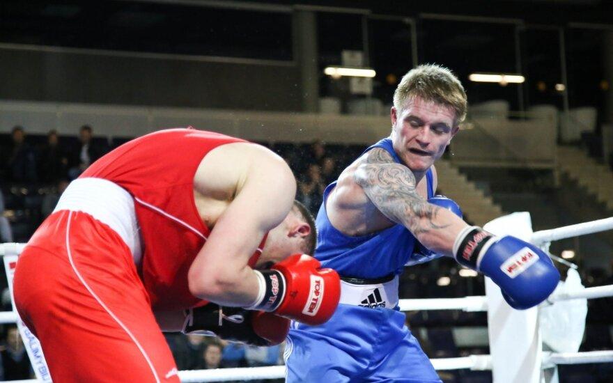 Bušido turnyre Vilniuje – bokso dvikova