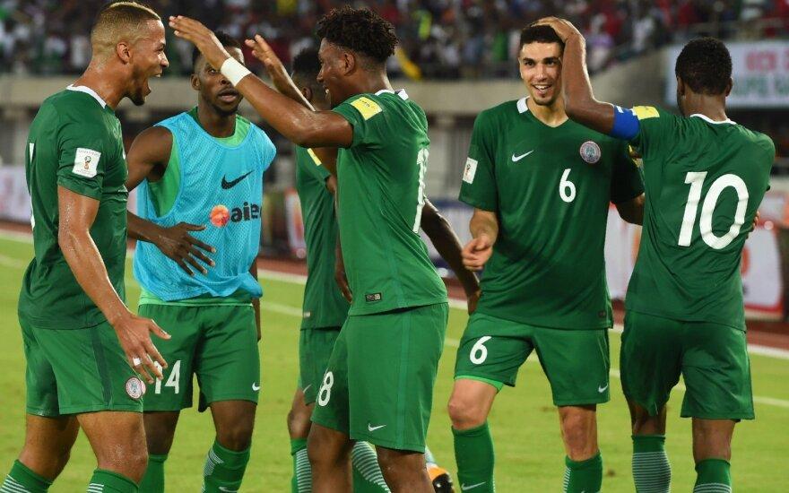Alex Iwobi Nigerijos rinktinė