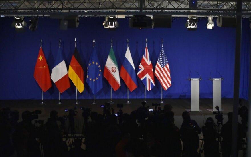 ES: susitarimas su Iranu neįmanomas, JT nebaigus tyrimo dėl jo ankstesnės veiklos