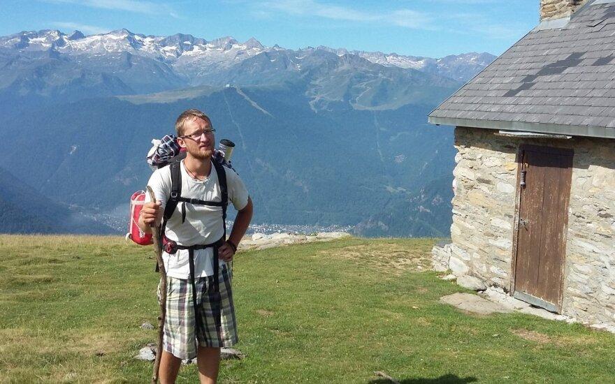 59 dienos keliaujant po Europą su minimaliu biudžetu: teko net žiedlapius valgyti