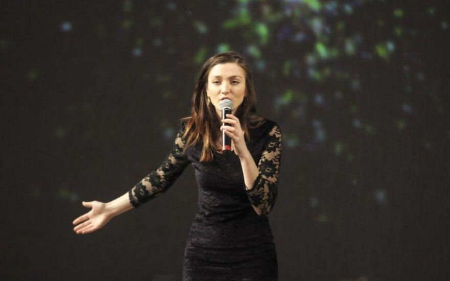 """Emilija Bereznauskaitė: """"Dainuoti išmokau anksčiau nei kalbėti"""""""