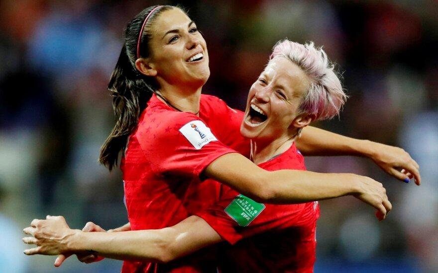 Pasaulio moterų futbolo čempionatas: JAV - Tailandas