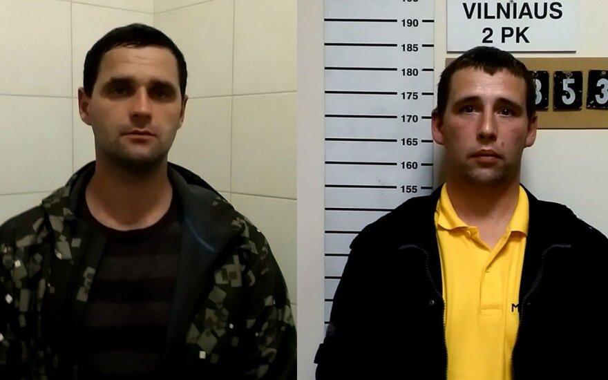 Vilniuje sulaikyti įtariami plėšikai