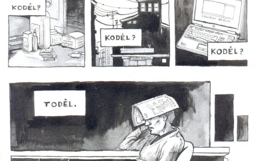 Komiksas (aut. J. Jonaitis)