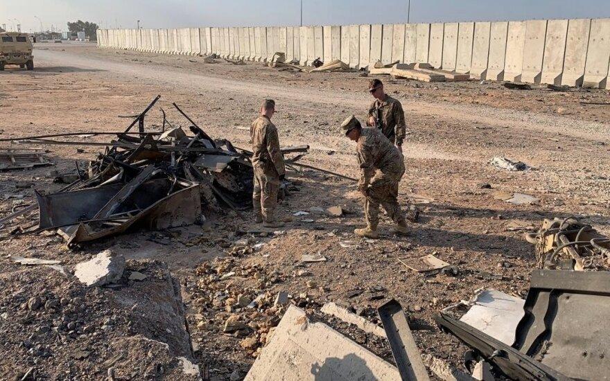 Irako politikas ragina protestuoti: smerkia JAV buvimą ir pažeidimus