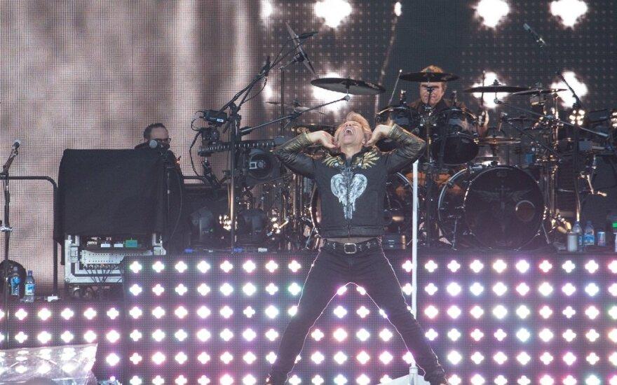 """Grupės """"Bon Jovi"""" koncertas Taline"""