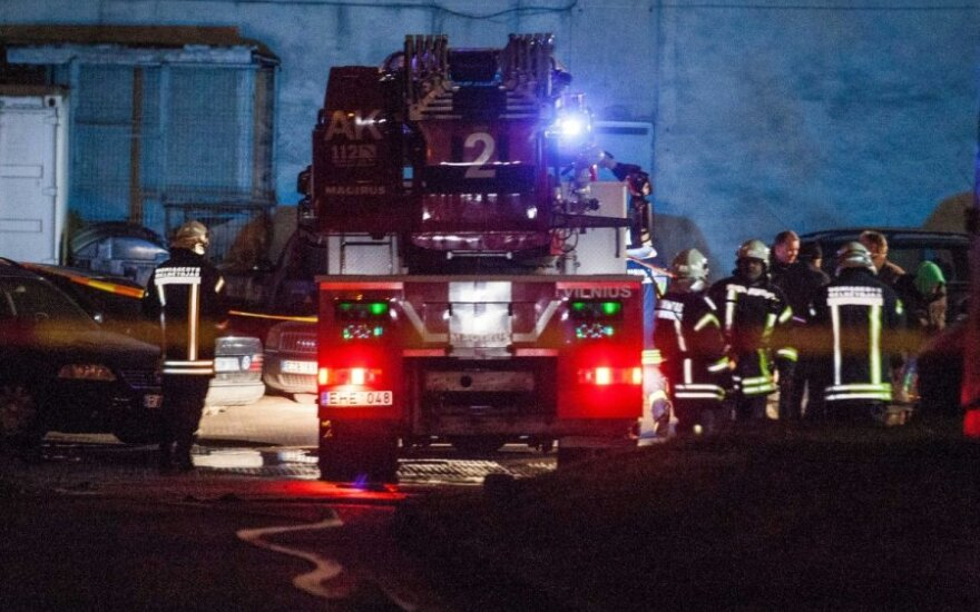 Vilniuje sudegė vyras