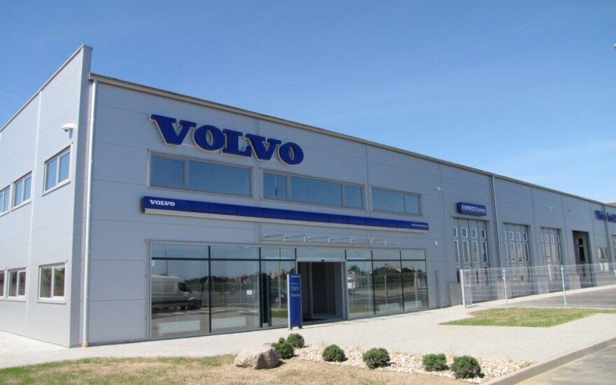 Volvo sunkvežimių centras Kaune