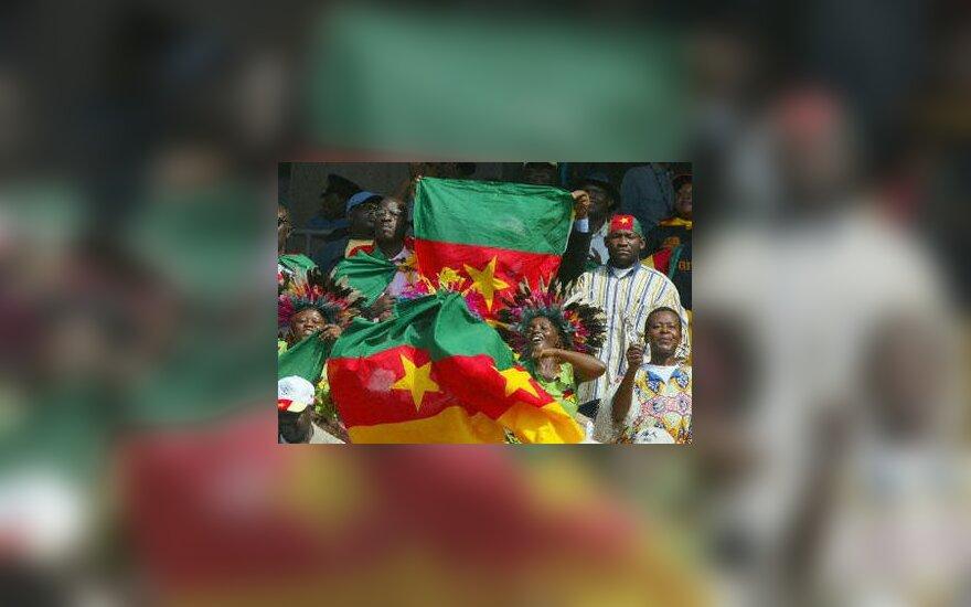 Kamerūno futbolo aistruoliai