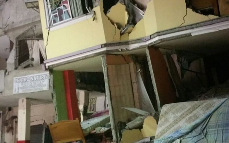 Earthquake in Ecuador