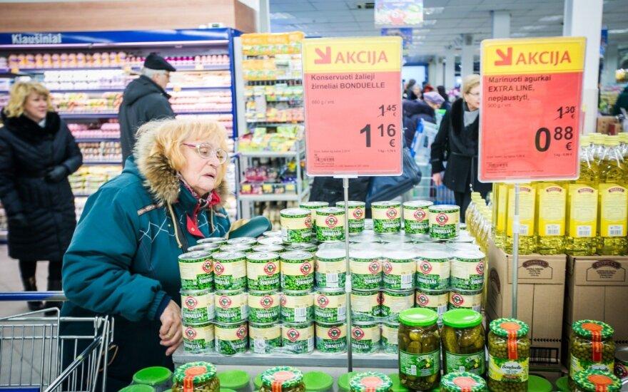 Apsipirkimas per akcijas: kodėl prekybos centrai pigiau parduoda maistą