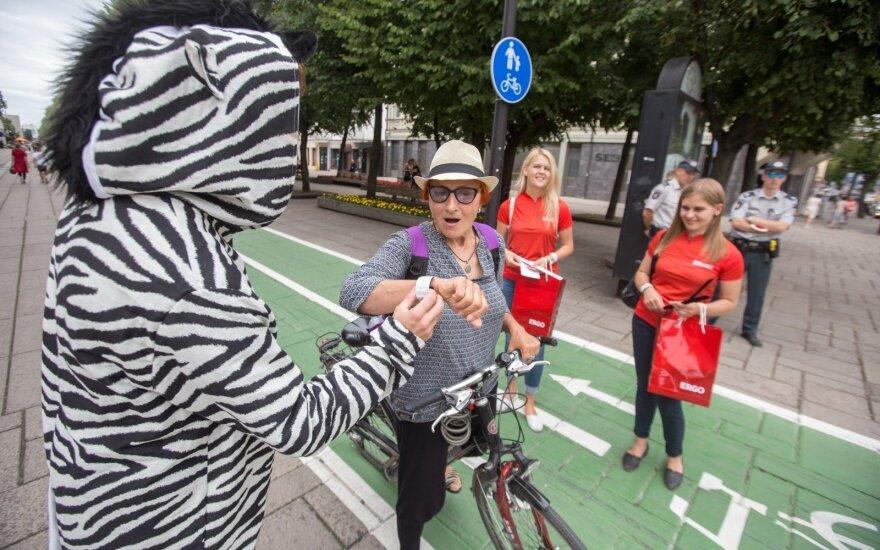 Kaune – draugiškas dviratininkų reidas