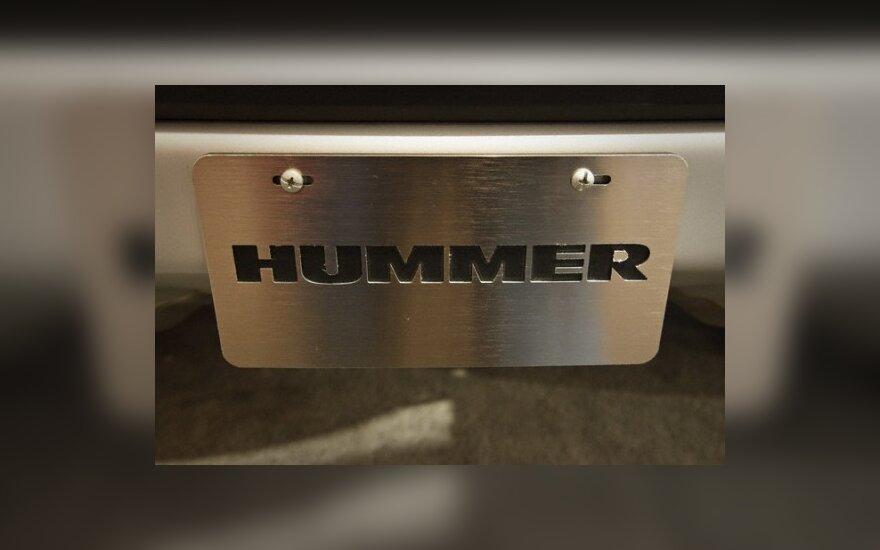 """General Motors"" parduos ""Hummer"" už 150 mln. JAV dolerių"