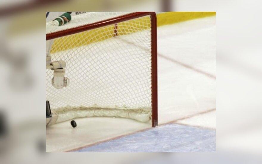 Lietuvos jaunių ledo ritulio rinktinė pasaulio čempionate pralaimėjo Baltarusijai