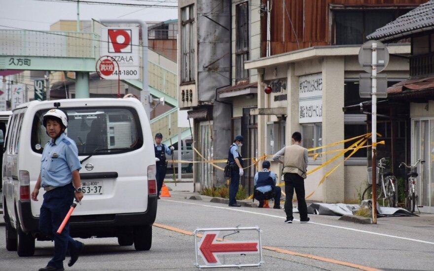 Japonijoje per retą smurtinį nusikaltimą nužudyti du žmonės, tarp jų policininkas