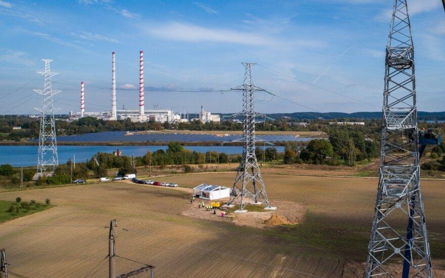 """""""Litgrid"""": išaugus vėjo generacijai elektros kainos mažėjo 14 proc."""