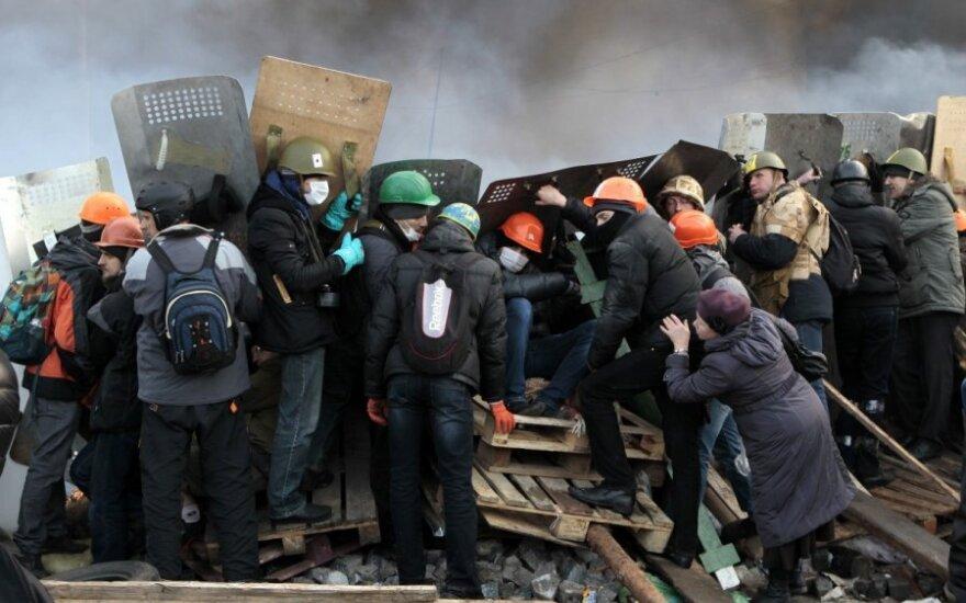 Kijeve gyvenanti lietuvė: yra pranešimų, kad bus įvesta nepaprastoji padėtis