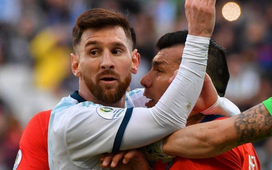 Pratrūkęs Messi neišsisuko – kuriam laikui turės pamiršti Argentinos rinktinę