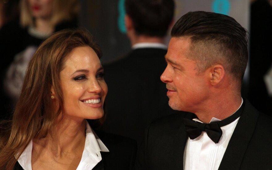 Angelina Jolie ir Bradas Pittas/ Foto: Vida Press