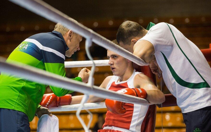 A. Šociko turnyro pusfinaliuose kovos 10 Lietuvos boksininkų