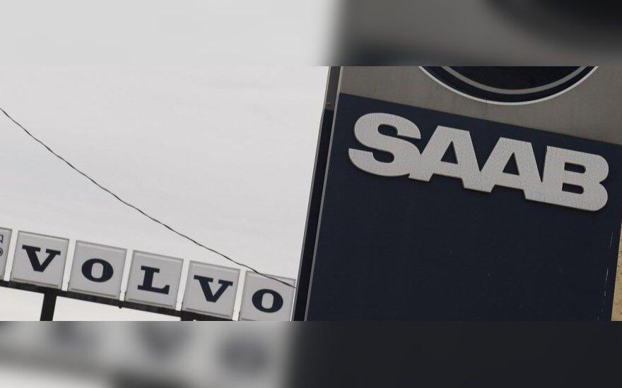 """""""Volvo"""" neigia apie ketinimus įsigyti """"Saab"""""""