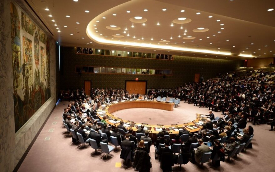 The UN Security Council in New York