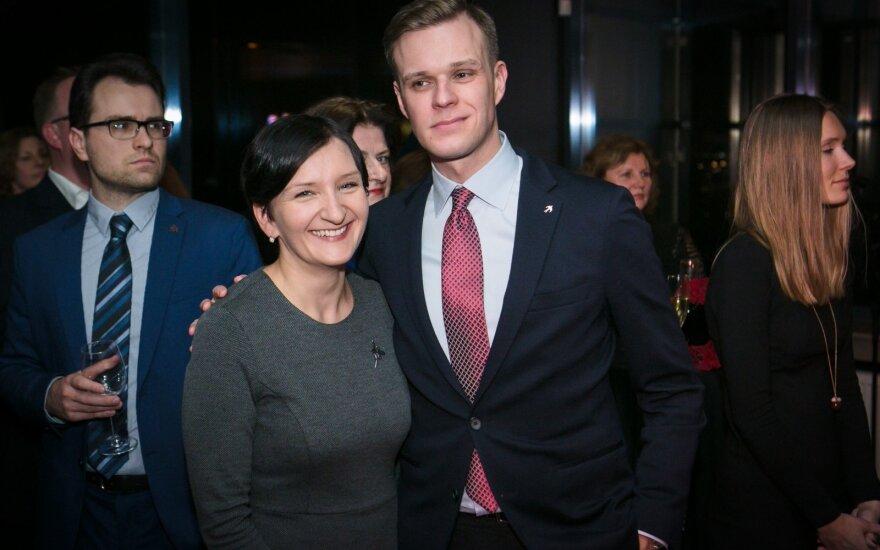 Austėja Landsbergienė, Gabrielius Lansbergis