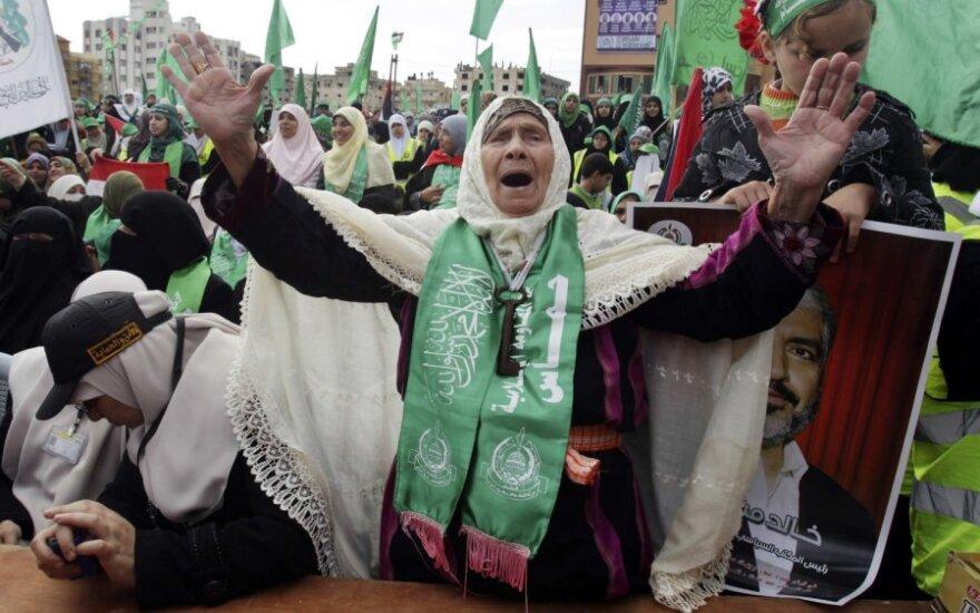 """Minimos """"Hamas"""" įkūrimo metinės"""