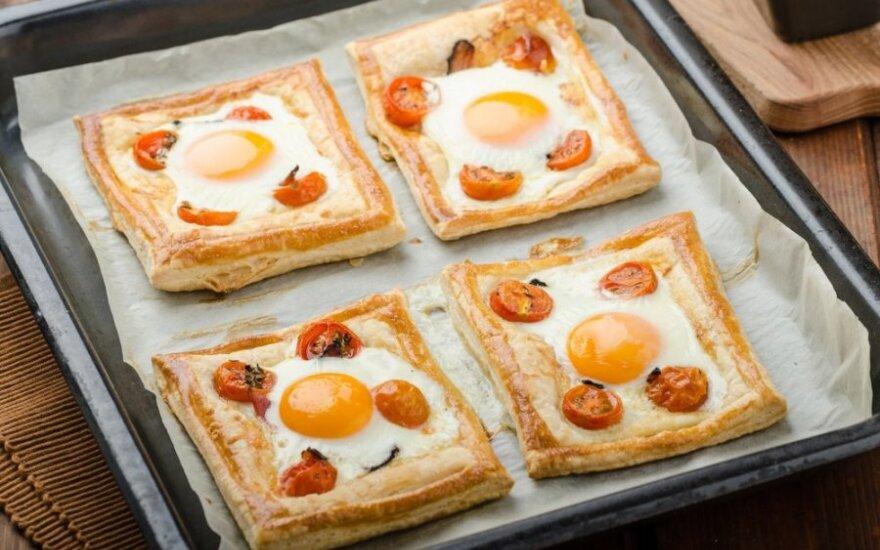 Savaitgalio pusryčiai, kurių norėsis dar ne kartą