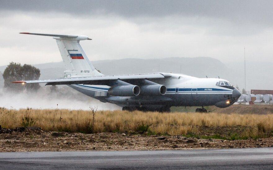 Rusijos orlaivis Il-76 pažeidė Estijos oro erdvę
