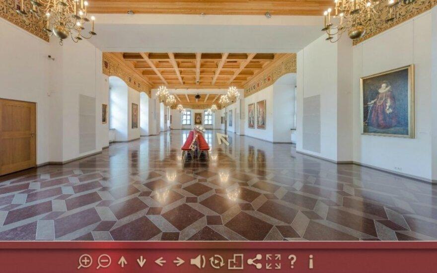Valdovų rūmų 3D muziejaus stopkadras