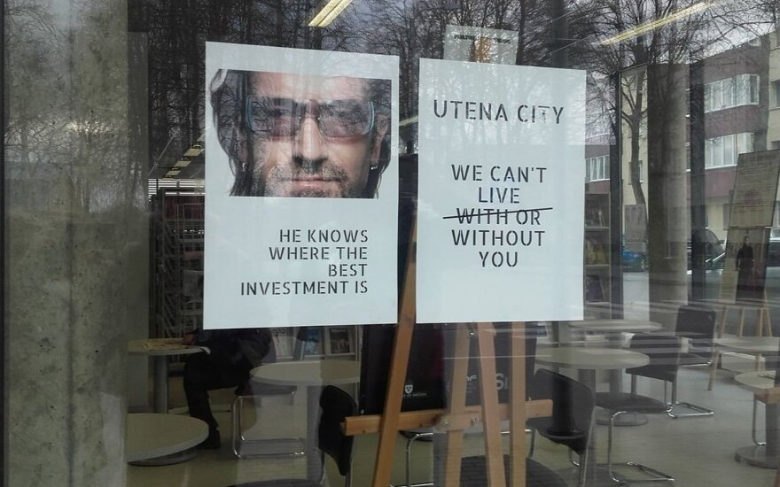 Bono dropping investment in Lithuania