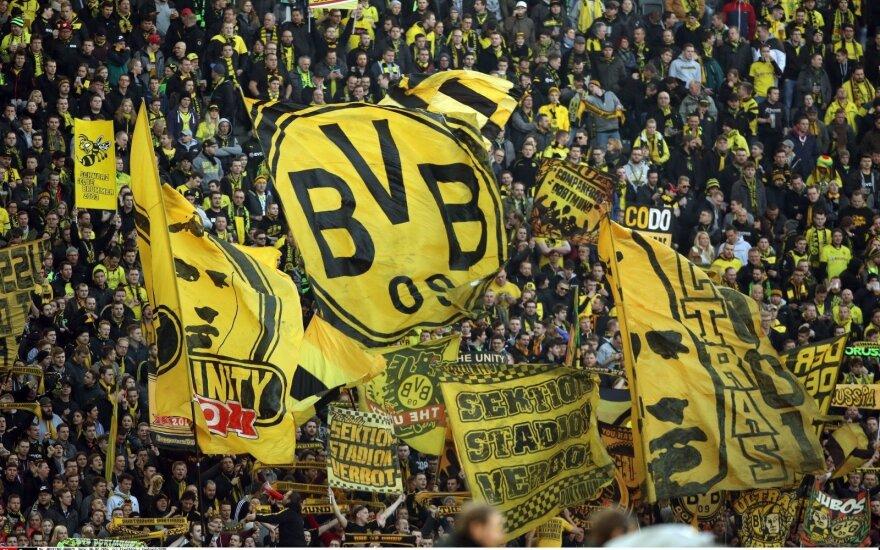 """""""Bundesliga"""" pritraukia daugiausiai žiūrovų tarp Europos futbolo lygų"""