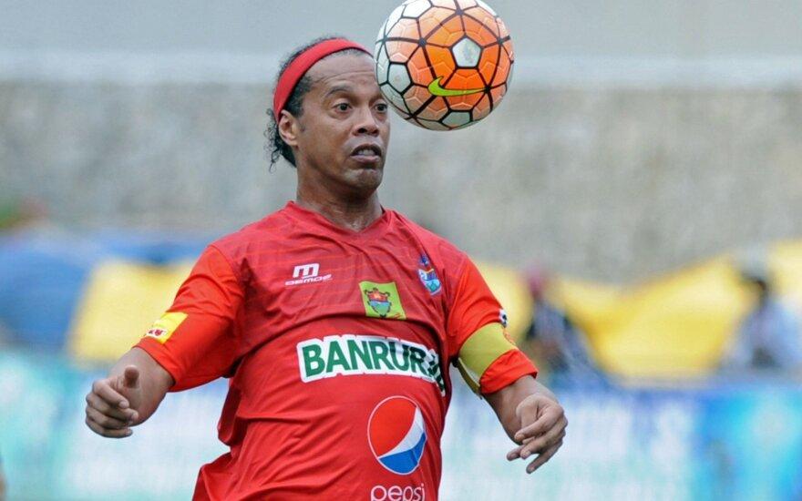 "Ronaldinho ir J. R. Riquelme – į pagalbą ""Chapecoense""?"