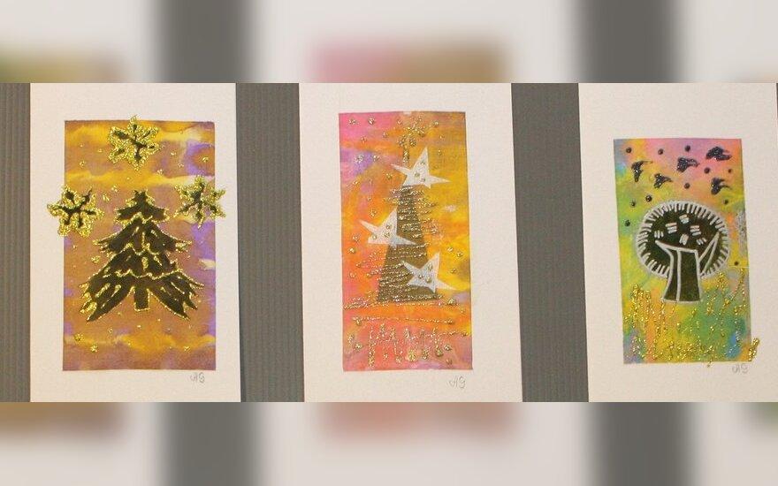 Kalėdinių atvirukų paroda