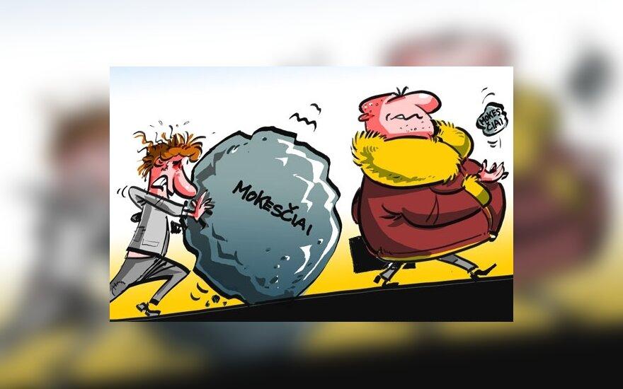 prekybos pasirinkimo mokesčių pasekmės