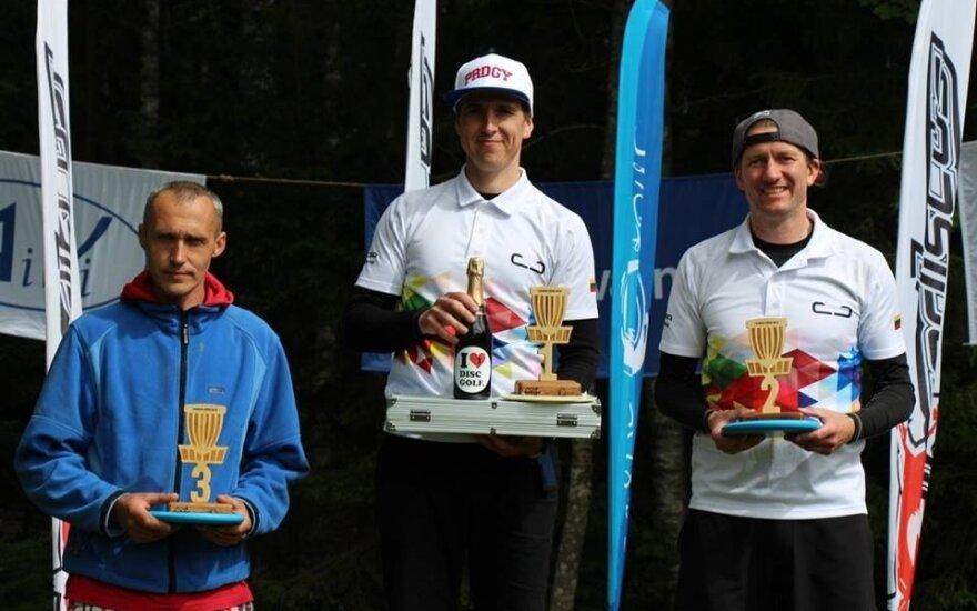 Lietuvos diskgolfo žaidėjams – trys aukščiausi apdovanojimai Baltijos jūros šalių ture