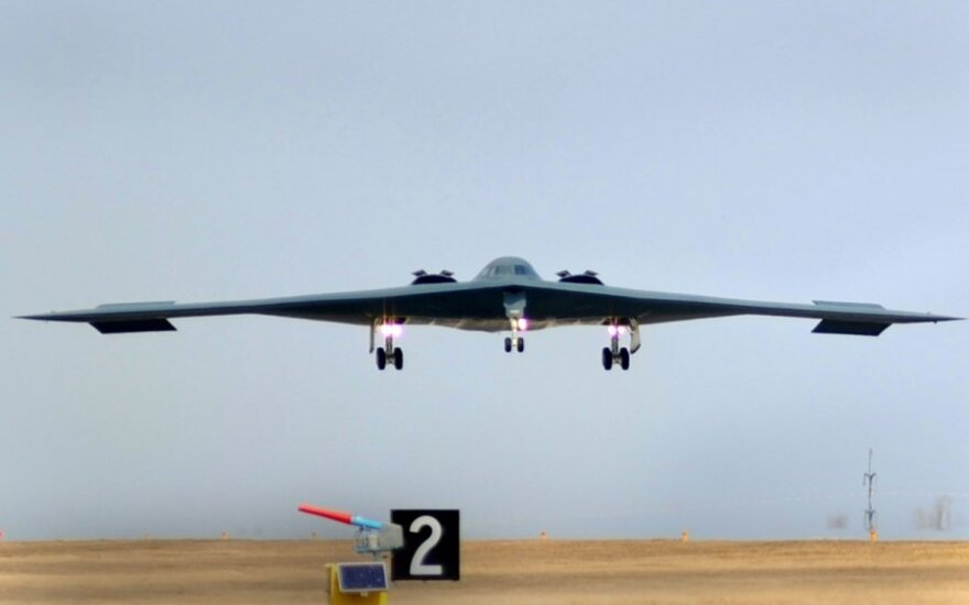 JAV strateginis bombonešis B-2
