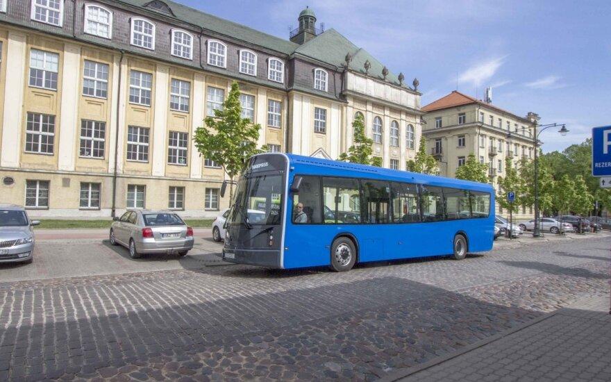 Klaipėdoje pradės veikti lietuviškų elektrinių autobusų laboratorija