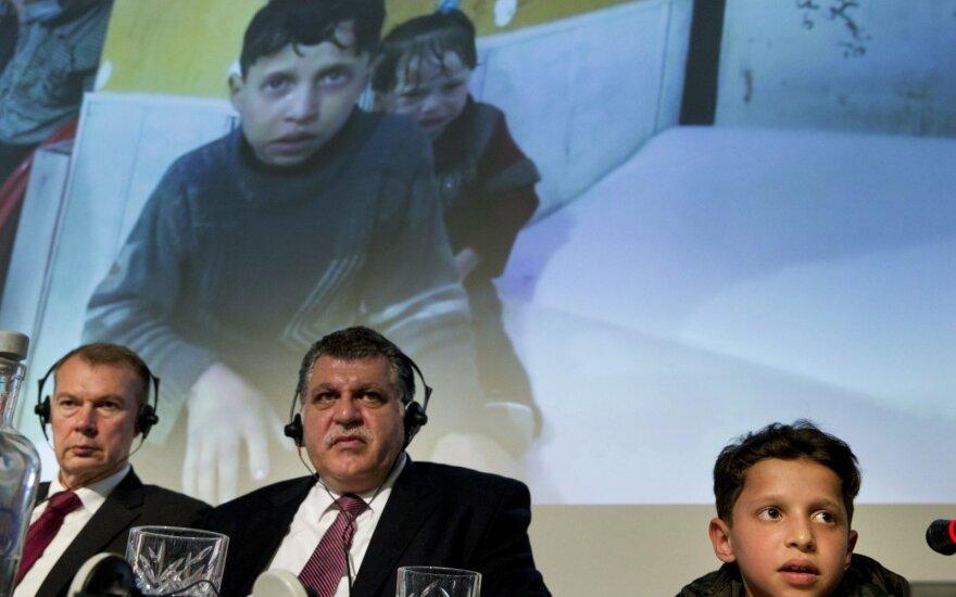 Įvertino rusų pastangas dėl Sirijos: tai tikras cirkas