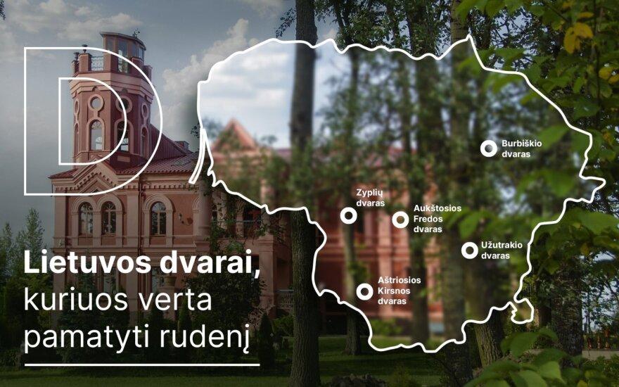 Lietuvos dvarų žemėlapis