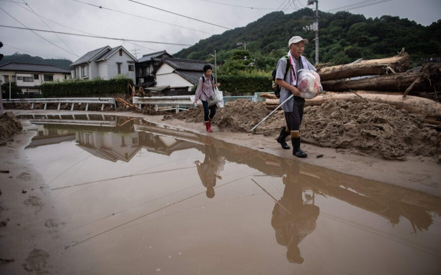 Potvyniai Jponijoje