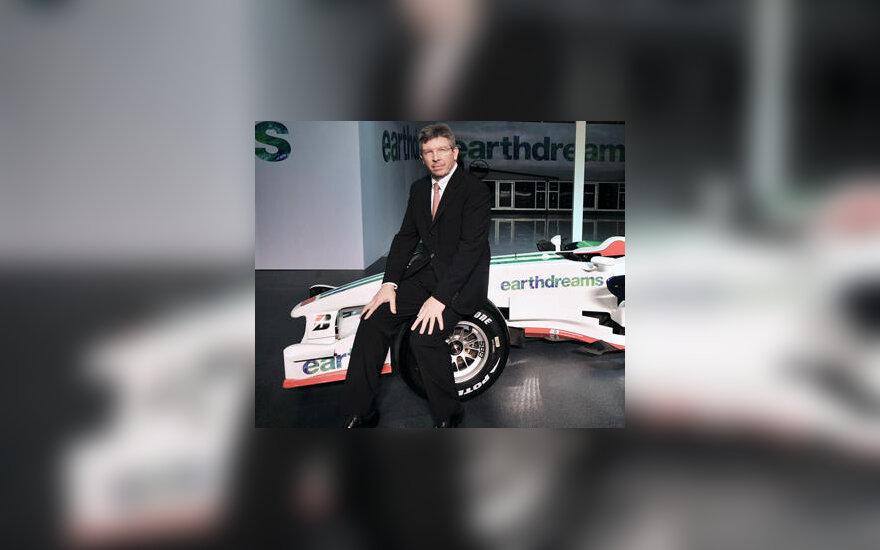 """Ross Brawn (""""Honda Racing F1"""")"""