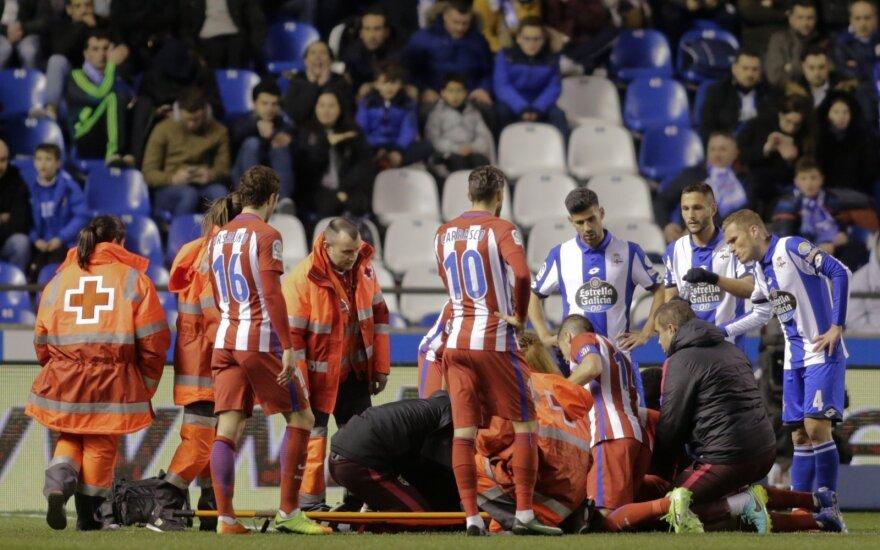 Ferando Torresas patyrė rimtą traumą