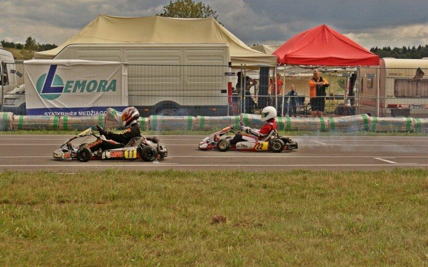 Kartingo čempionatas (Racing Pit nuotr.)