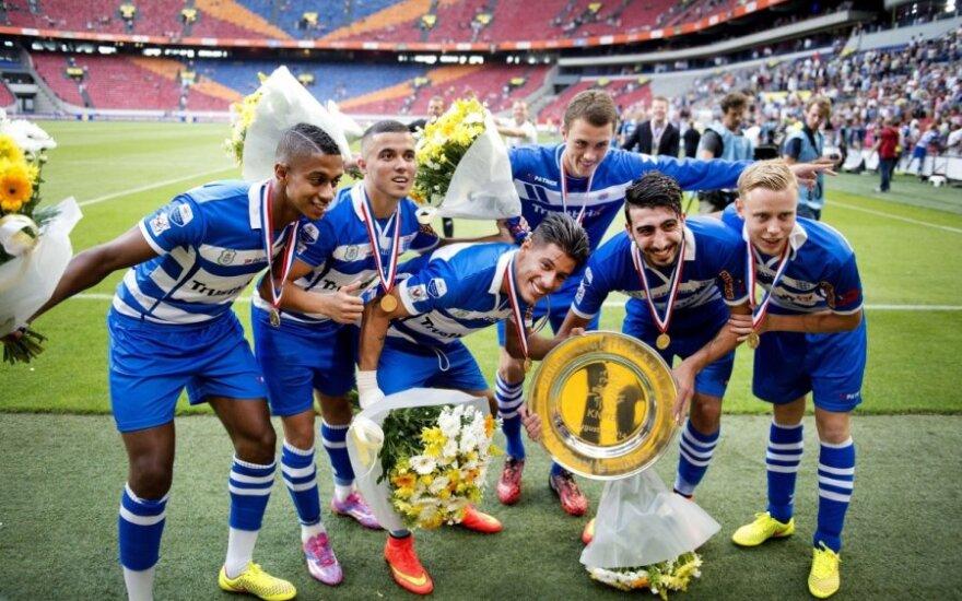 """""""Zwolle"""" futbolininkai iškovojo Olandijos supertaurę"""
