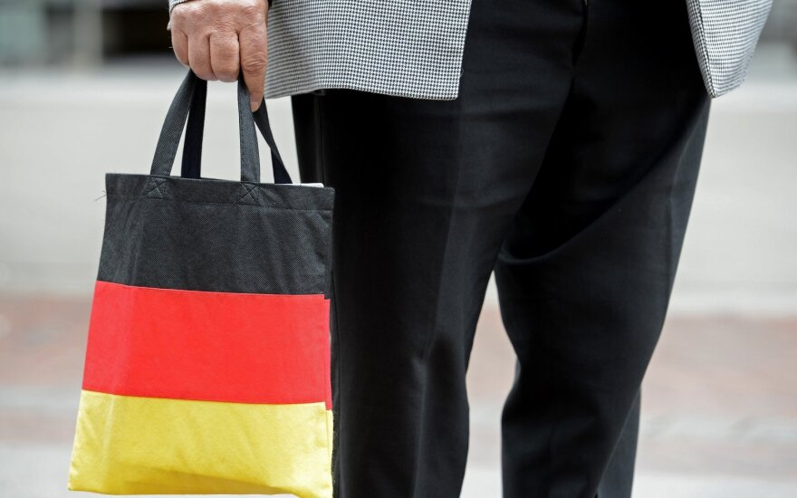 German shopper