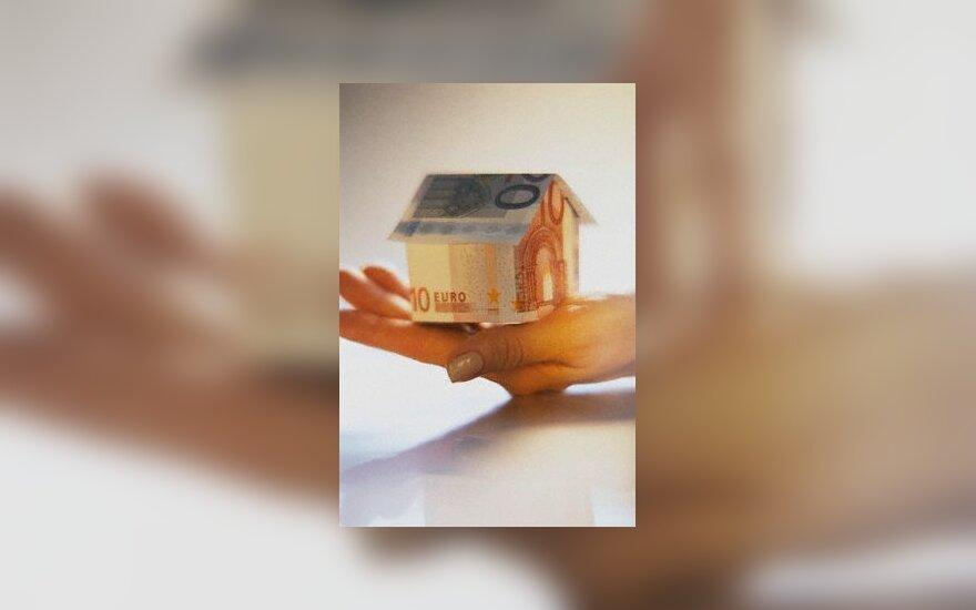 nekilnojamas, turtas, namas, pinigai, turtas